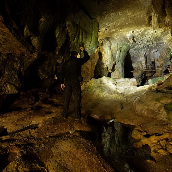 cave-exploration-explorer-Cave-water-density-walther-pro-pl60-spain