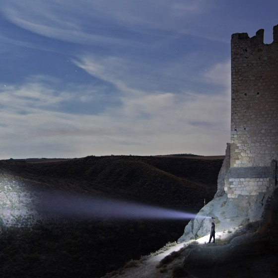 lightpainting-walther-pro-xl3000r-spain-castle-near-mardrid