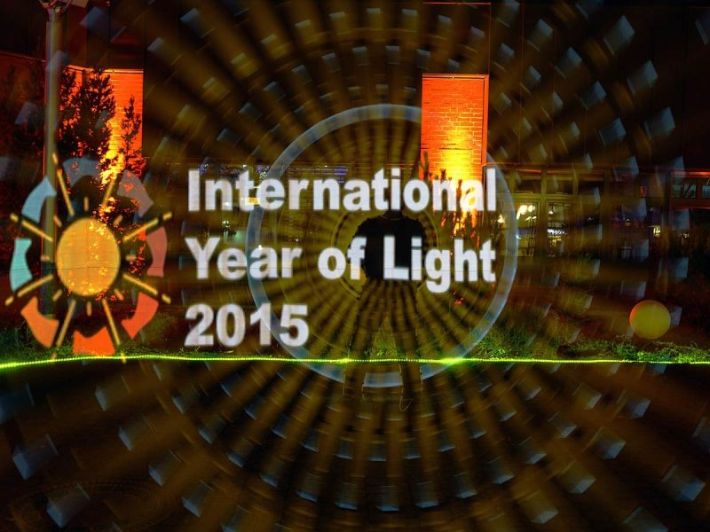 International Year of Light - Lightpainting by Lightart Photography artist JanLeonardo