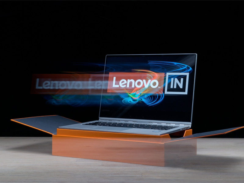 Light Painting - Lenovo Yoga 910 - by JanLeonardo Light Art Photography