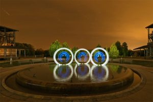 lightpainting - workshop - Brunnen - JanLeonardo