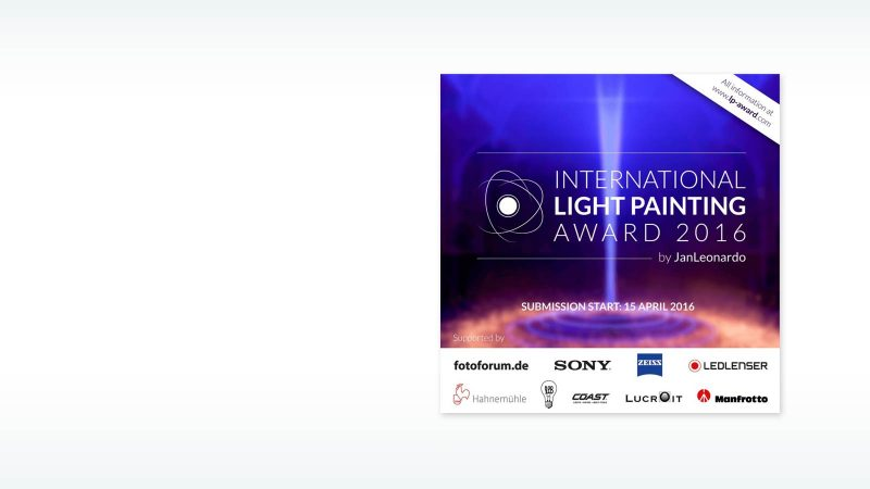 International Light Painting Award 2016 - Lightpainting by Lightart Photography artist JanLeonardo