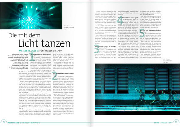 Bokeh-Magazin-Die-mit-dem-Licht-tanzen about Light Painting Photographer JanLeonardo