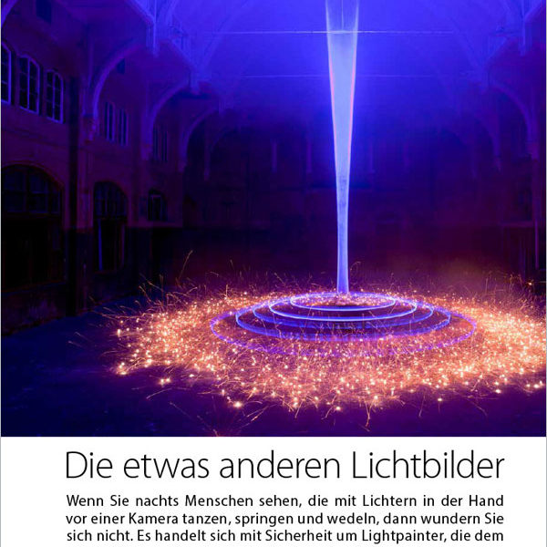 Pictures-Magazin about Light Painting Photographer JanLeonardo