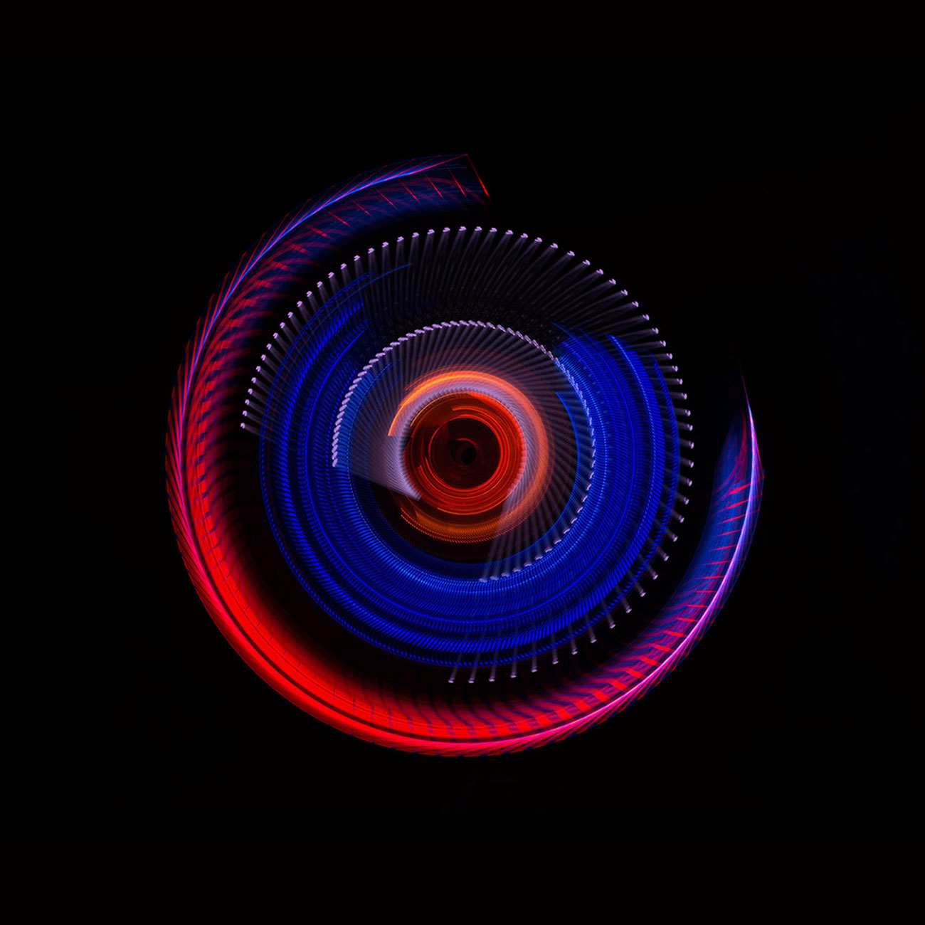Light Painting - ZEISS Abstract - by JanLeonardo Light Art Photography
